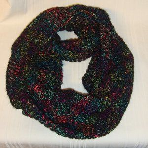 Steve Madden Women's Multi-Colored Loop Knit scarf